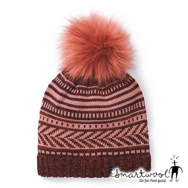 【Smartwool】Chair Lift 毛球保暖毛帽『玫瑰粉』SW018071 美國製|保暖|登山|運動|冬季