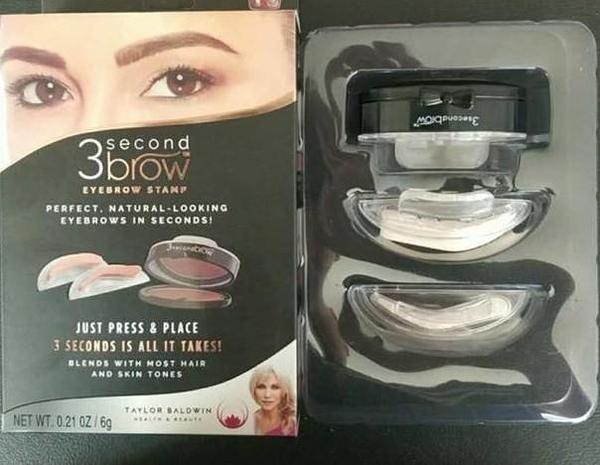 【SG222】畫眉工具3 Second Brow 筆劃眉工具印章眉美妝工具眉毛印章懶人印章眉柳葉眉