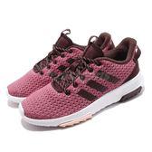 adidas 休閒慢跑鞋 CF Racer TR 粉紅 紅 低筒 舒適緩震 運動鞋 女鞋【PUMP306】 BB7453