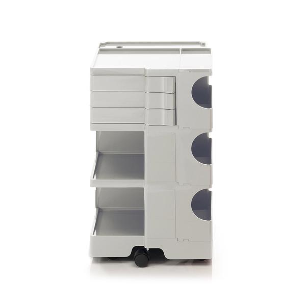 【預購】B-Line Boby Storage Trolly Mod.M H73.5cm 巴比 多層式系統 收納推車 - 高尺寸 (三抽屜收納) 白色