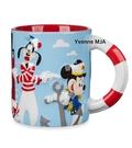 *Yvonne MJA* 美國迪士尼 限定正品 Mickey 米奇 迪士尼遊輪 藝術浮雕 馬克杯