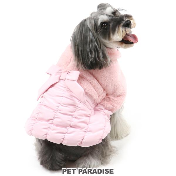 【PET PARADISE 寵物精品】PP 2021新款●氣質鋪毛斗篷2色 /粉色 (4S/3S/SS/DS/S) 秋冬新品