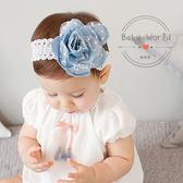 髮帶 寶寶 韓版 嬰兒 頭花 牛仔 花朵 嬰兒 造型 BW