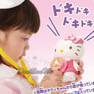 KITTY醫生扮演遊戲有聲玩具組聽診器溫度計夾子針筒藥水瓶137367通販屋