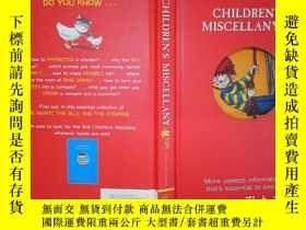 二手書博民逛書店Children s罕見miscellany(II)(詳見圖)Y6583 Children s miscell