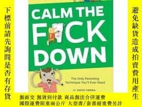 二手書博民逛書店Calm罕見The F*ck DownY255562 David Vienna Knock Knock 出版