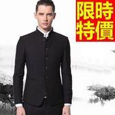 成套西裝 包含西裝外套+褲子 男西服-制服上班族風靡合身造型質感2色54o31[巴黎精品]