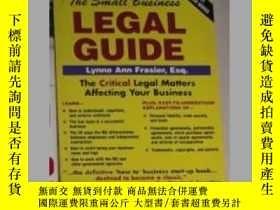 二手書博民逛書店The罕見Small Business Legal Guide