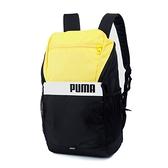 PUMA PUMA Plus 黃黑白後背包-NO.07729208