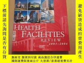 二手書博民逛書店HEALTH罕見FACILITIES REVIEW 精裝大12開