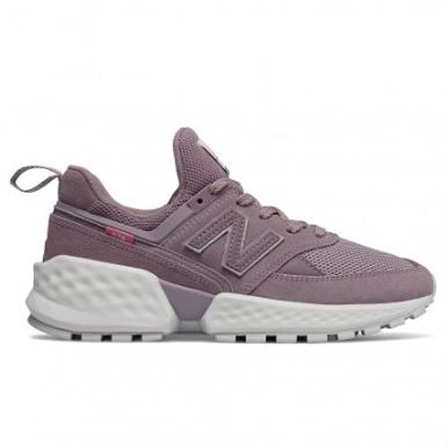 New Balance 574Sv2 女鞋 休閒  麂皮 Fresh Foam 襪套 紫【運動世界】WS574TEA