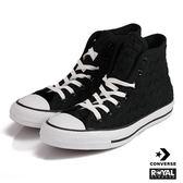 CONVERSE 新竹皇家 CHUCK TAYLOR 黑色 布質 格紋 帆布鞋 男女款 NO.A7753