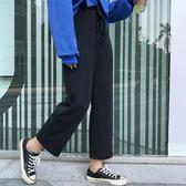 【年終】全館大促春裝新款女裝正韓顯瘦直筒褲寬鬆簡約百搭西裝褲休閒褲九分褲學生