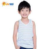 UV100 抗UV 防曬童背心-繽紛條紋、正反兩穿