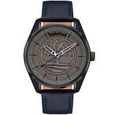 Timberland 都會時尚大三針手錶-45mm TBL.16086JSUPBL/13