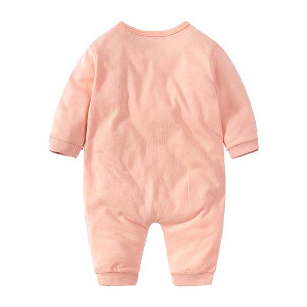 連體衣 連體衣服0歲1寶寶新生兒網紅哈衣公主滿月春秋裝秋季套裝 【喵可可】