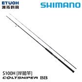 漁拓釣具 SHIMANO 21 COLTSNIPER BB S100H [岸拋竿]