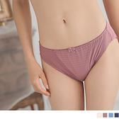 《VB0163》光澤感條紋拼接內褲 OrangeBear