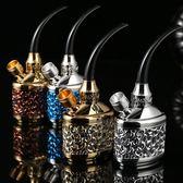 ZOBO豪華水菸壺 多重過濾水菸嘴 水菸筒 水菸袋 水菸斗 健康菸具
