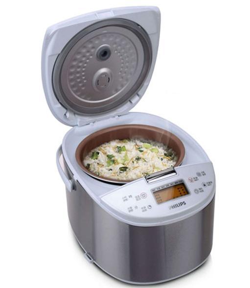 [家事達] KU- HD3077 飛利浦 10人觸摸型厚釜電子鍋促銷價