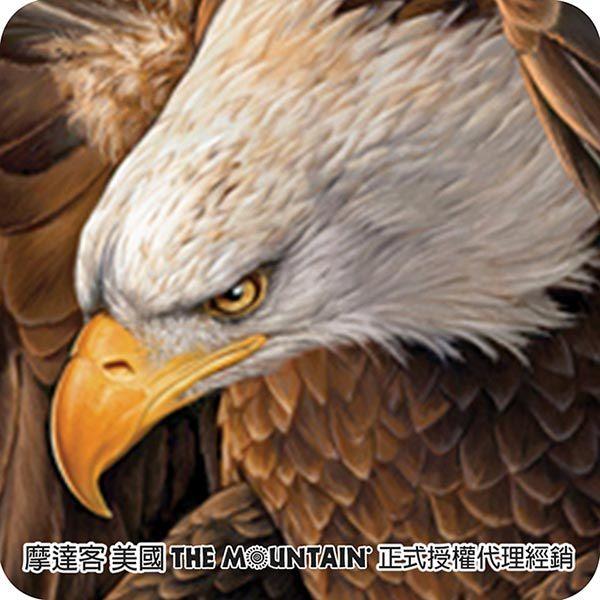 【摩達客】(預購)美國進口The Mountain 自由鷹 純棉環保短袖T恤(10415045055)