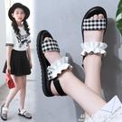 女童涼鞋2021新款夏季韓版時尚網紅中大童小學生公主兒童軟底 科炫數位