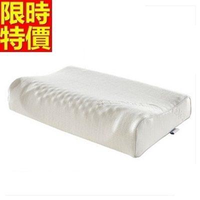 乳膠枕-護頸柔軟透氣保健天然乳膠枕頭68y9【時尚巴黎】