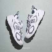 NEW BALANCE 休閒鞋 NB408 復古 白藍銀 韓版 運動鞋 男女 (布魯克林) ML408A