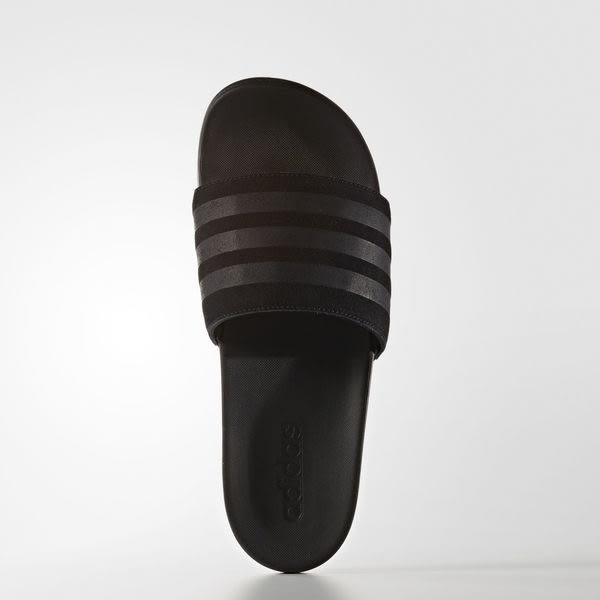 Adidas Adilette CF Ultra [AQ2104] 男女 涼鞋 拖鞋 運動 休閒 時尚 經典 黑 愛迪達