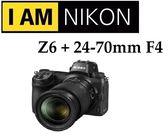 名揚數位 (分期0利率) NIKON Z6 + Z 24-70 F4 S 國祥公司貨,全幅無反 微單眼