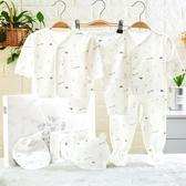 棉質新生兒衣服套裝禮盒0-3個月6秋冬剛出生初生夏季寶寶用品【免運】