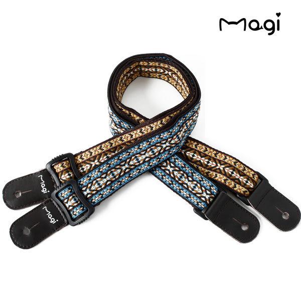 小叮噹的店- GI29BL 烏克麗麗背帶 .MAGI 烏克麗麗 專用褙帶 .民族風格、純棉 專用款