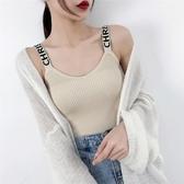 Pr 吊帶背心女裝上衣無袖T恤2019夏季