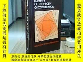 二手書博民逛書店Elements罕見of the Theory of Compu