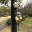 門牌號     招財貓掛件手工鐺日式系和風店鋪開業招財可愛復古掛飾銅風鈴   英賽爾3C數碼店