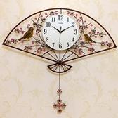 一紅鐘錶掛鐘客廳創意時鐘現代簡約石英鐘歐式大氣擺鐘靜音家用鐘 年底清倉8折