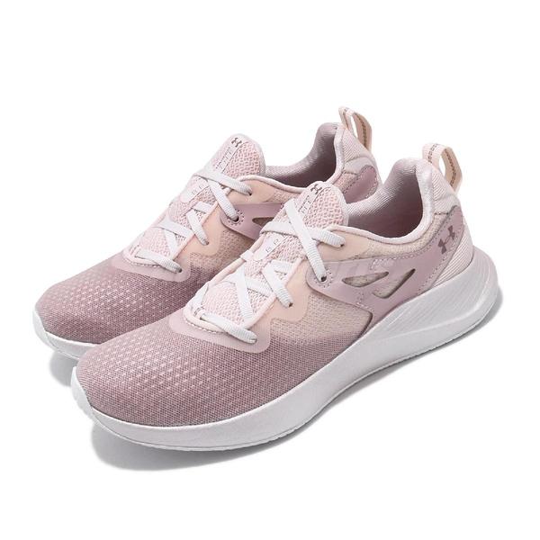 Under Armour UA 訓練鞋 Charged Breathe TR 2 粉紅 金 女鞋 運動鞋 【ACS】 3022617604