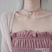 雪花項鍊項圈鎖骨鍊女脖子飾品短款日韓s925純銀頸帶復古韓國簡約     時尚教主