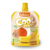 法國Vitabio 有機優鮮果-蘋果+香蕉90g