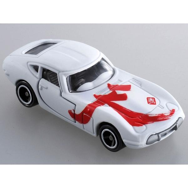 TOMICA 2019新年車 吉川書法系列 天 TM61446白色多美小汽車