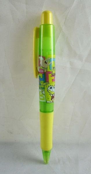 【震撼精品百貨】SpongeBob SquarePant海棉寶寶~原子筆『敬禮』