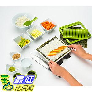 [美國直購] Sushiquik 壽司捲 海苔捲專用 製作工具 Sushi Making Kit Fun Easy