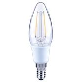 特力屋 LED燈絲燈泡 2W 晝光色 E14 蠟燭型 全電壓