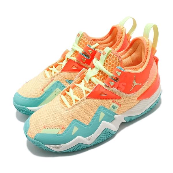 Nike Jordan Westbrook One Take PF 藍 橘 男鞋 籃球鞋 喬丹 Russell Westbrook 【ACS】 CJ0781-800