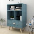 簡易書架簡約現代置物架落地桌上櫃子學生創意格子櫃自由組合書櫃 ATF 夏季新品