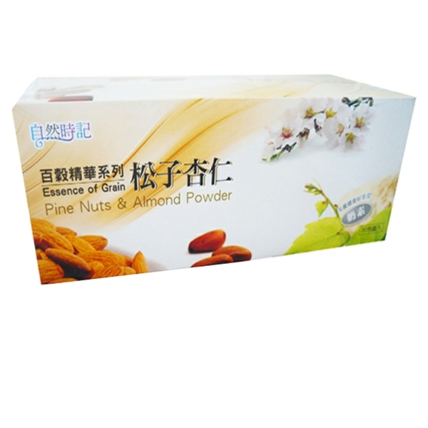 【自然時記】百穀精華之松子杏仁25g*30包/盒
