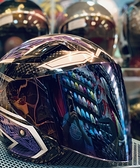 KYT安全帽,DJ/VO,R6,專用電藍鏡片