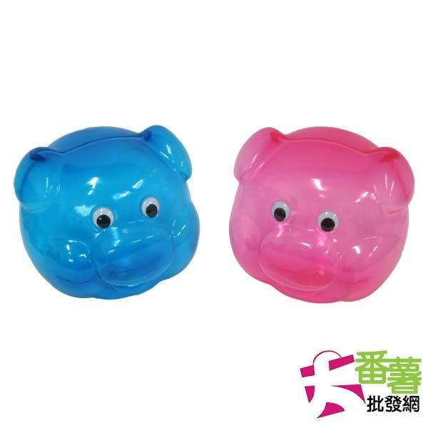 【台灣製】豬頭存錢筒 [ 大番薯批發網 ]