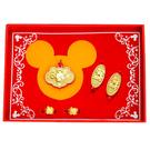 迪士尼系列金飾-彌月金飾禮盒-富貴米奇款...