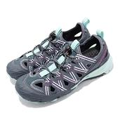 Merrell 戶外鞋 Choprock Shandal 灰 紫 越野 運動鞋 休閒鞋 女鞋【ACS】 ML52770